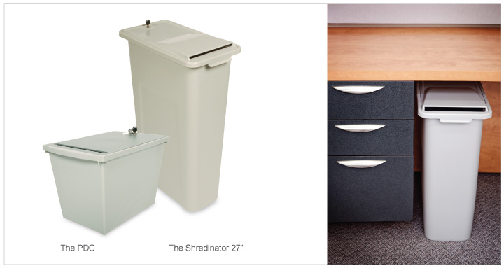 Containers for Paper for Shredding