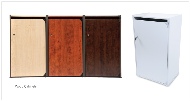Cabinet style Containers