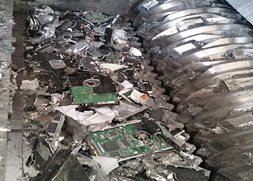 Electronic Waste Destruction